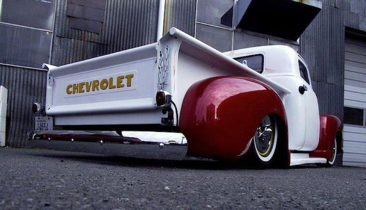 Cool lookin' Chevy truck#Rvinyl: Pinning the #BestofStance #SlammedWhips!