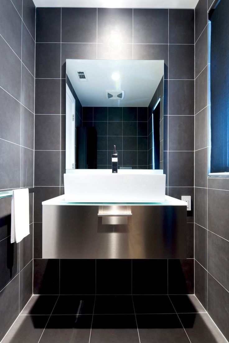 51+ Simple Black and White Tile Bathroom Decor Ideas in ...