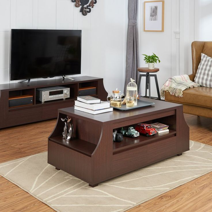 Furniture of America Bronzo Storage Coffee Table - HFW-1694C4
