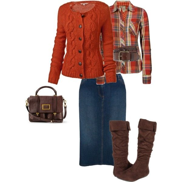 A fashion look from November 2012 featuring Fat Face cardigans, BKE tops and Ann Harvey skirts. Browse and shop related looks.