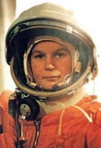 Tereshkova, Valentina Vladimirovna (1937-) Russian cosmonaut. First woman in space, aboard Vostok 6.