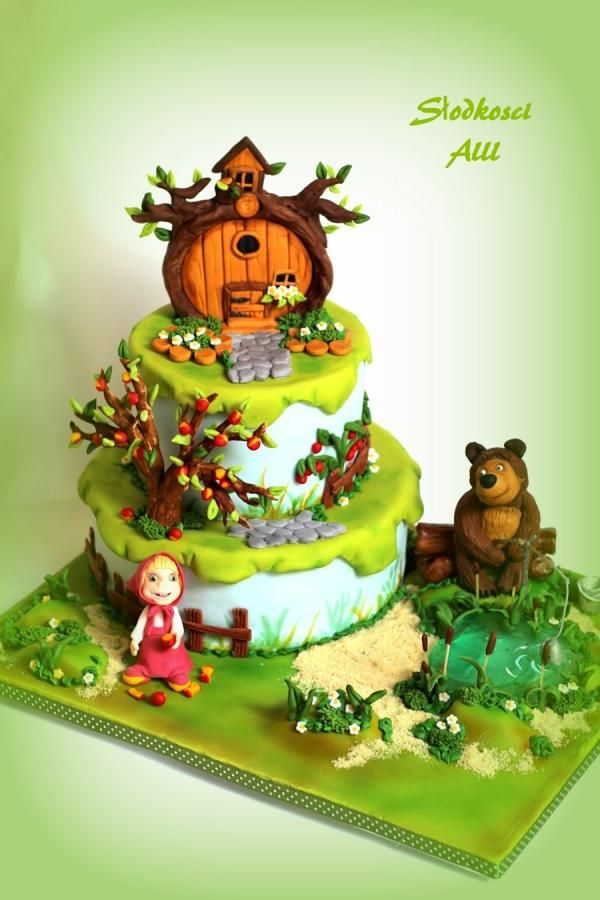Masha and the Bear by Alll