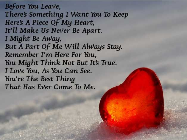 Short I Love You Poems for Her (3)