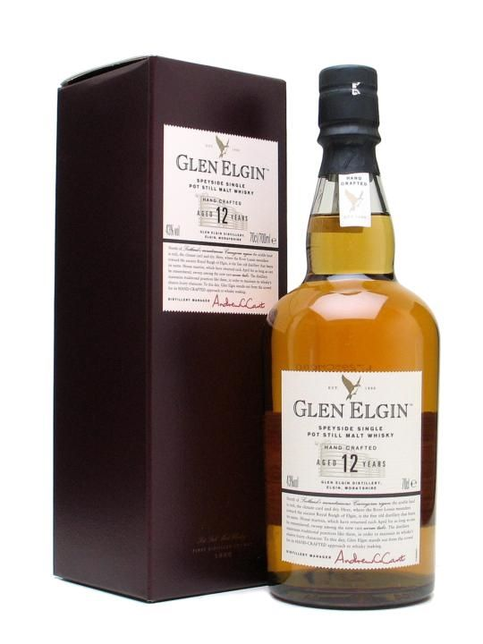 Glen Elgin 12 Year Old Scotch Whisky : The Whisky Exchange