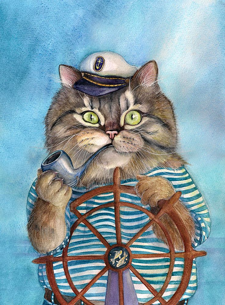 месте выхода картинки для декупажа смешные коты разноцветные