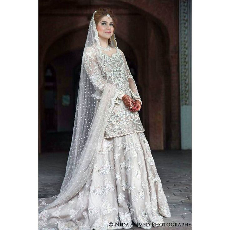 """""""Gorgeous bride Natasha. We create custom gowns for all our brides and that is the beauty of an Ammara Khan Bridal. After all we have a passion for couture…"""""""