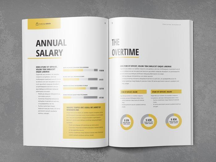 Employee Handbook Template With Images Employee Handbook