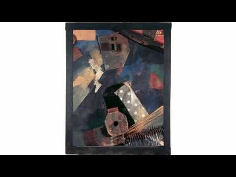 Kurt Schwitters - Dislocated Forces (Merz picture) -The collage by the dada artist Kurt Schwitters was painted shortly after the First World War.