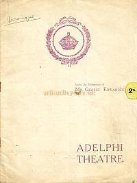 """Programm für """"Veronique"""" auf dem Dritten Adelphi Theatre unter der Leitung von George Edwards."""