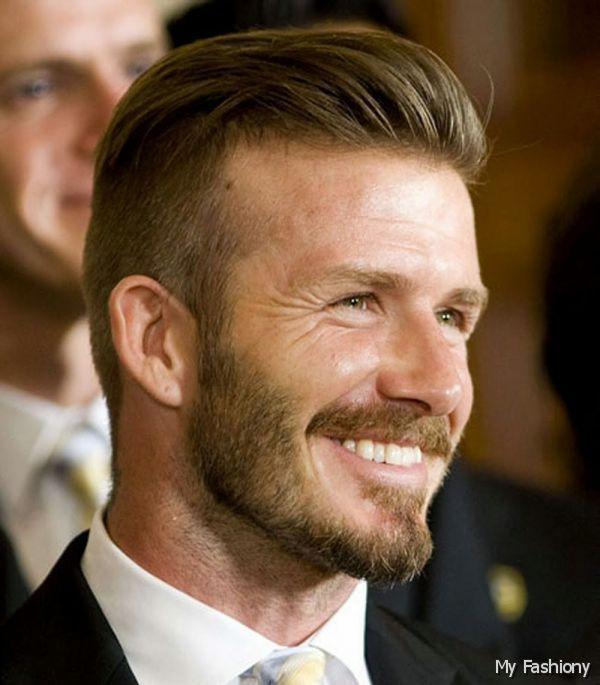Men Short Hairstyles in Semi Mohawk Trend