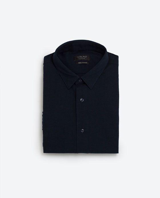 PIQUE SKJORTE fra Zara, 129 kr.