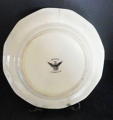 """J. Clementson Sydenham Flow Mulberry Ironstone  Plate Corea   9.5""""   c 1850"""