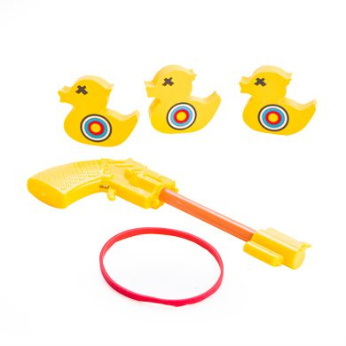Roll up, roll up, and try your luck at this Desktop Rubber Band Duck Shooting Game! #Shoot #duck #fun