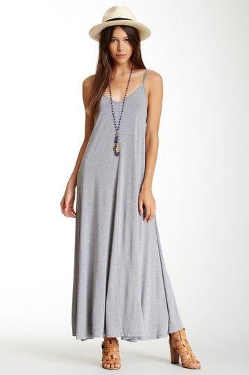 Long Low Back Tank Dress by Beulah on @HauteLook