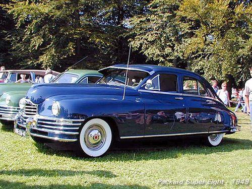 1949 Packard Super Eight Sedan.