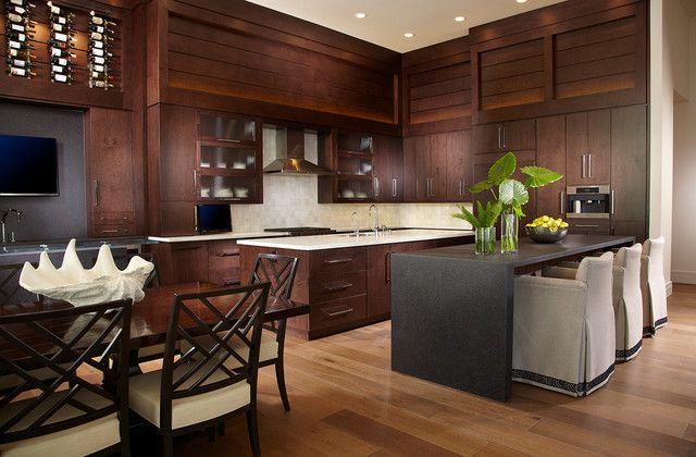 Tropische Küche Design - Diese vielen Bilder von Tropischen Küche - schöne mülleimer für die küche