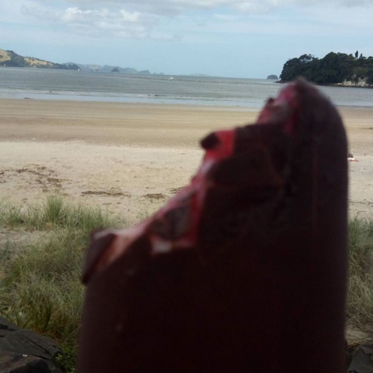 Gotta luv that jellytip icecream on the way back from the shop in #whitianga