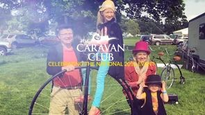 Fun and entertainment for the whole family,Mr Phoebus and his Penny Farthing Experience were proud to be included in The Caravan Club National event new 'Have a Go' area. The Caravan Club's National celebrate 90 years of the National next year. See more photography at Mr Phoebus mrphoebus.com