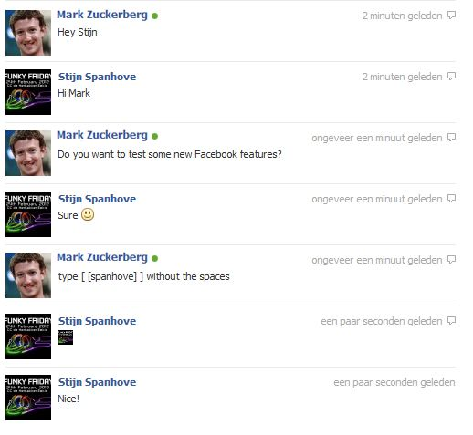 Facebook maakt het chatten aangenamer!