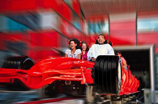 Formula Rossa: Ferrari World - Abu Dhabi UAE