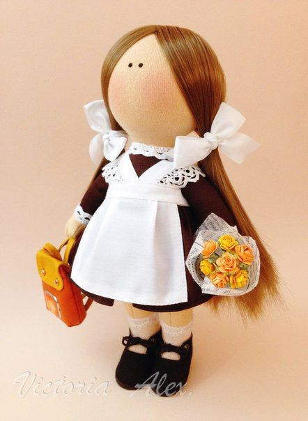 Фотографии ღVictoria Alexღ Интерьерные куклы ручной работыღ