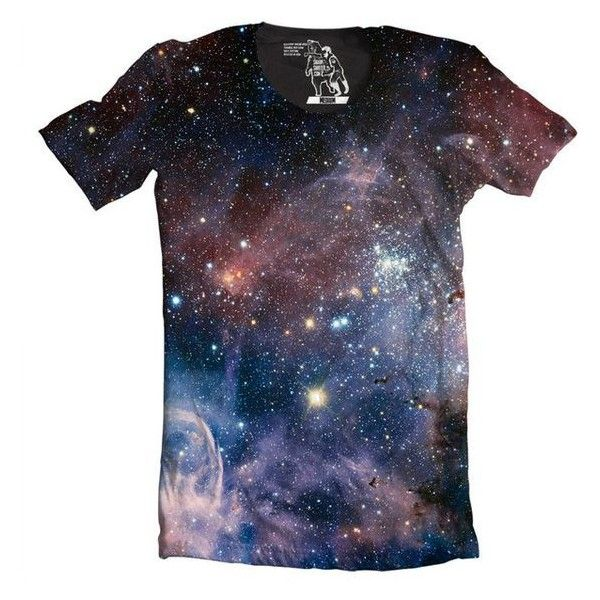 Mens Galaxy T Shirt, Carina Nebula Men's Tee, Cool Outer Space T-Shirt ❤ liked on Polyvore featuring men's fashion, men's clothing, men's shirts, men's t-shirts, mens star wars t shirts, mens crew neck t shirts, star wars mens shirts, mens shirts and mens graphic t shirts