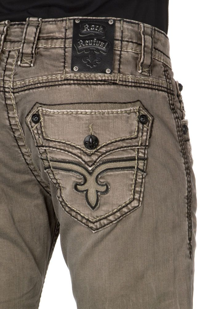 Mens Buckle Jeans Cheap