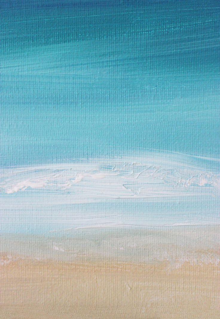 DIY Painting: 15 Minute Ocean Scene