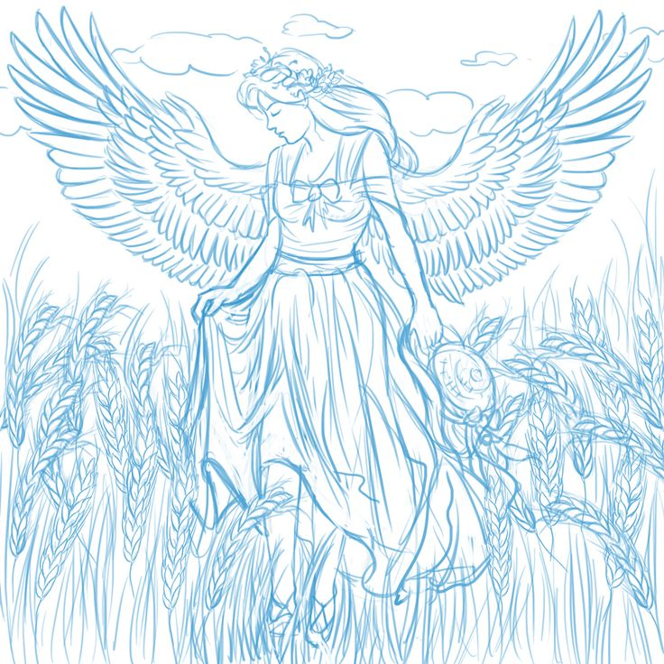 171 best images about angels to color on pinterest