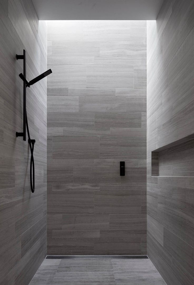 Shower - Lavastone House in Toorak Australia by B.E Architecture