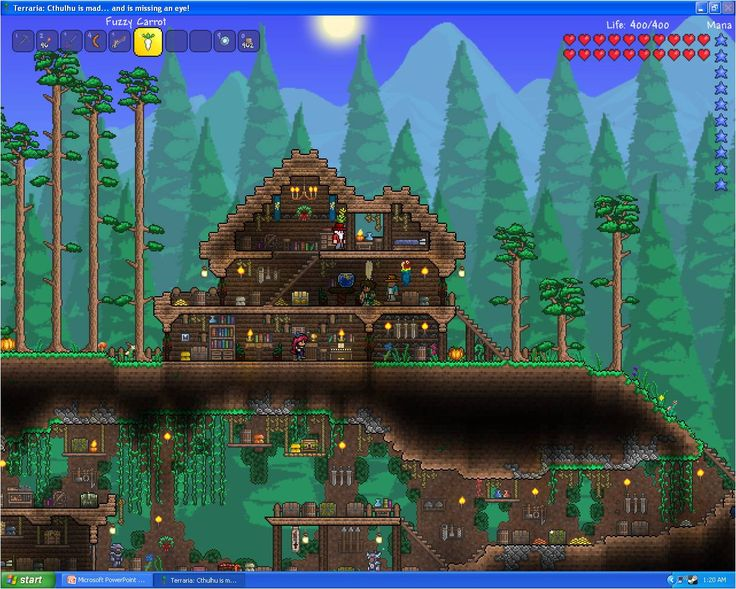 17 best images about terraria on pinterest spaceships for Terraria house designs