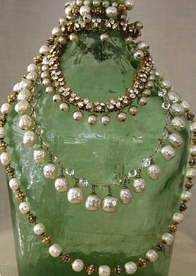 Miriam Haskell Pearl Necklaces