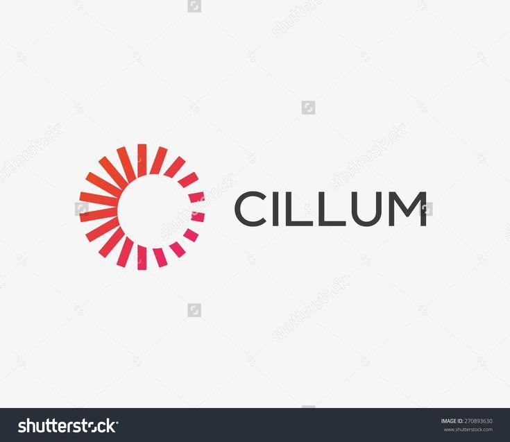 Abstract sun logo design template. Geometric sign. Universal energy tech vector icon