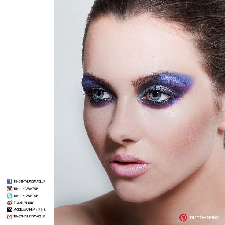 Makeup and hair by Timothy Hung. Photography by Patty Tseng. Model Annika Parkinson-Dow @ Lloyd Talent.