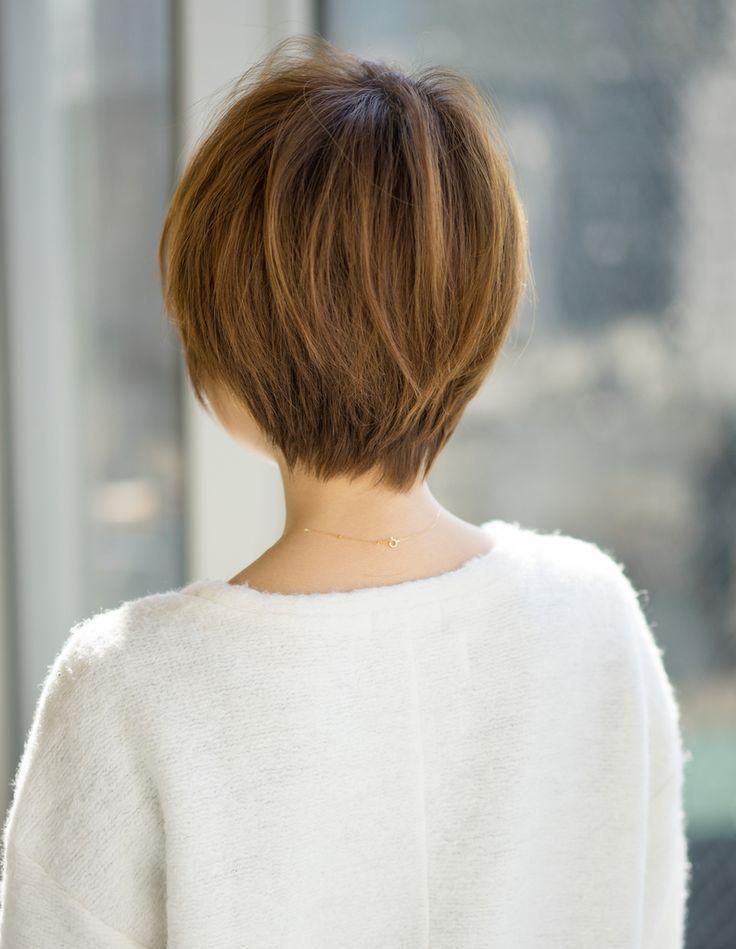愛され小顔ショート(MO-229)   ヘアカタログ・髪型・ヘアスタイル AFLOAT(アフロート)表参道・銀座・名古屋の美容室・美容院