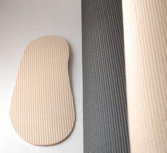 Pantoffel Sohlen leichte Gummi Blatt für handgefertigte Hausschuhe und Schuhe - Soling Gummi Blatt grau schwarz beige Leichte und flexible Gummisohlen für