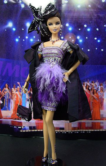 OOAK Barbie NiniMomo's Miss Connecticut 2007
