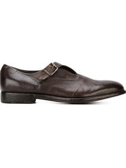 monk strap shoes Alberto Fasciani