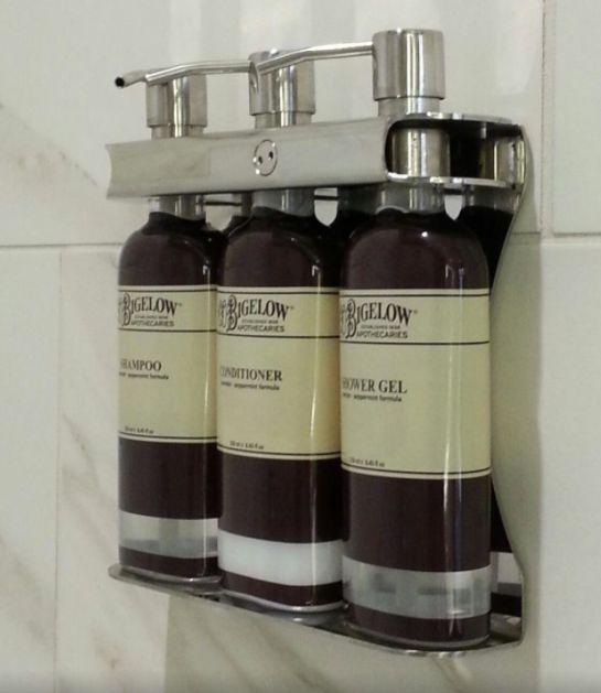 Aquamenities, Sophisticated Soap Shampoo Dispenser ,dispenser | gallery
