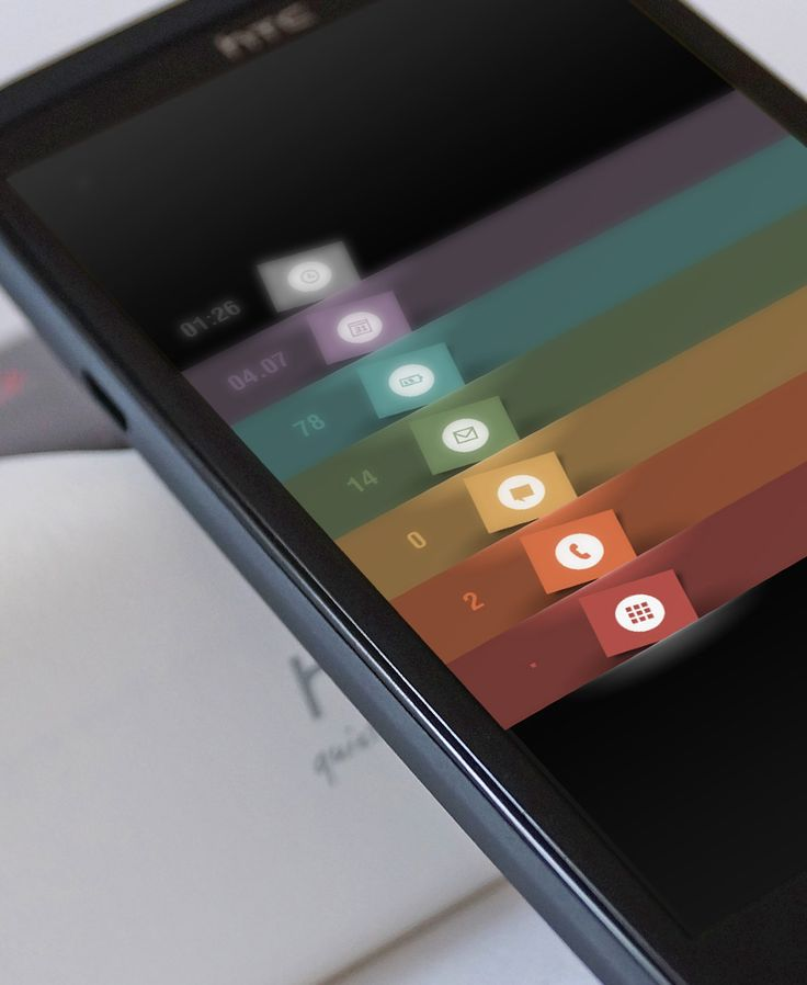 Mini tabs Android Homescreen by pytacz - MyColorscreen