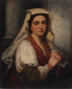 Neapolitanka (Włoszka) Aleksander Kotsis, ok. 1870 r.