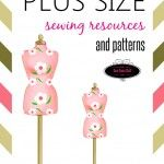 Get the links to all the helpful resources that you would for plus size sewing. Included in this post are classes, books, and links to sewing patterns.