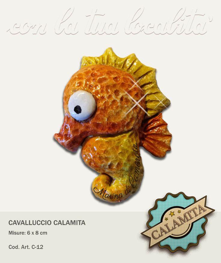 Piccolo cavalluccio marino in mille colori e con calamita sul retro. Possibilità di personalizzazione.