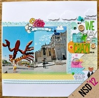 A Project by amytangerine from our Scrapbooking Gallery originally submitted 05/05/12 at 12:00 AM: Scrapbook Ideas, Scrapbook Inspiration, Gardens Girls, Girls Generation, Travel Scrapbook, Scrapbook Galleries, Nsd Gardens, Girls Morphs, Scrapbook Layout