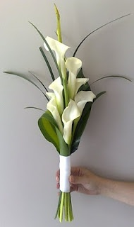 designed as a bridesmaid bouquet -- could add more to make bigger for the bride