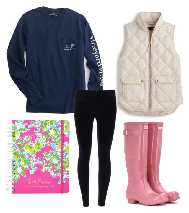 """Rainy School Day"" by theeastcoastprepster on Polyvore"