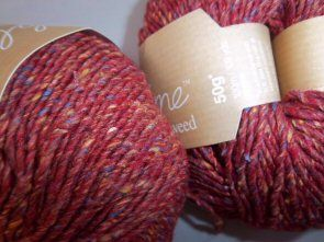 Sublime Luxurious Aran Tweed shade 370 ~ red earth