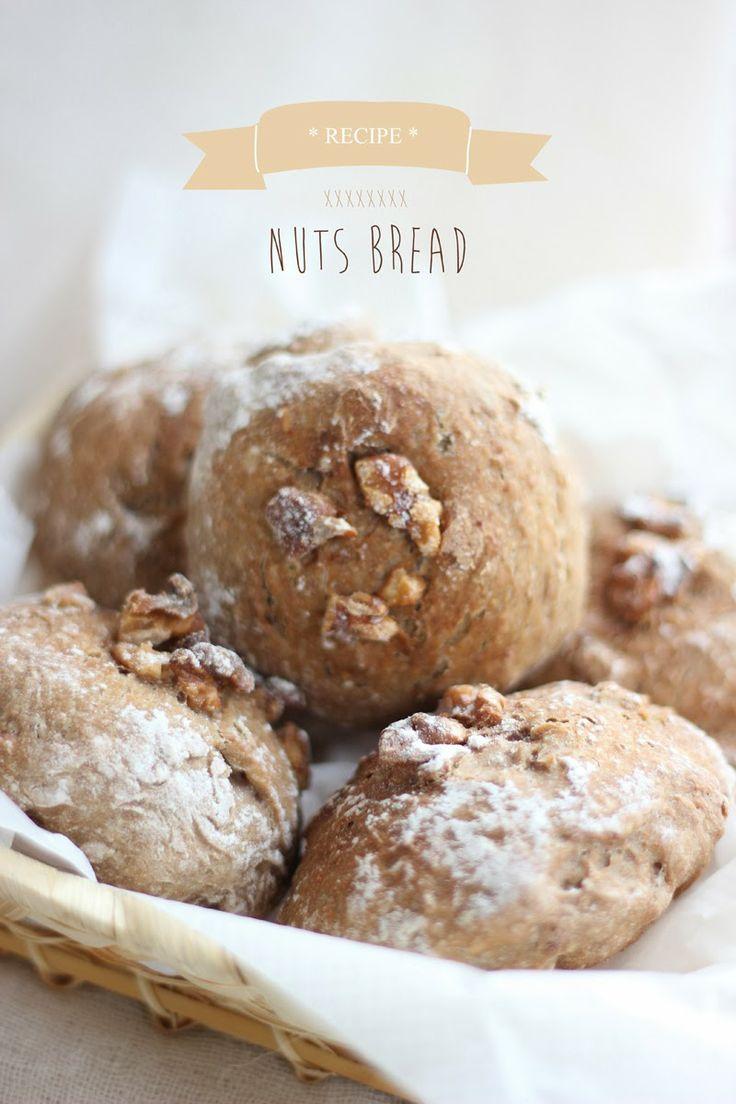nuts bread ...