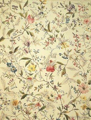 Georgian fabric another of William Kilburn's designs , last quarter of 18th C