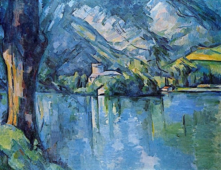 Image result for Cezanne, Le Lac Bleu